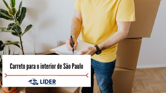 Carreto para o interior de São Paulo