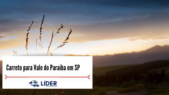 Carreto para Vale do Paraíba