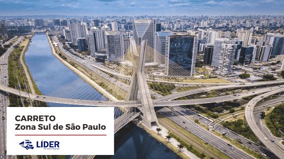 Carreto para a Zona Sul de São Paulo