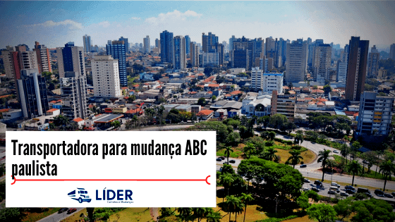 Transportadora para mudança ABC paulista