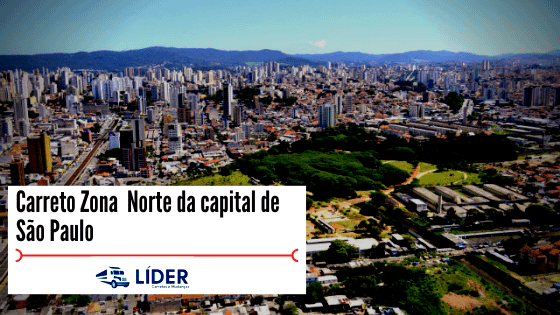 Carretos Zona Norte da capital de São Paulo